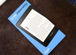 [NEW/Unsealed] Amazon Kindle Paperwhite 4 - 2018 model(8GB/No Ads/Waterproof/)