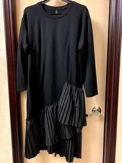 New Stylish Black Dress 全新型格長身裙