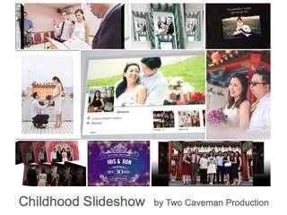 Wedding Childhood Slideshow