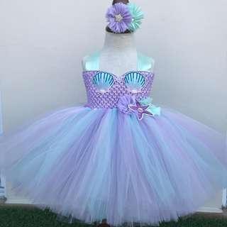 🚚 Mermaid Tutu Princess Dress