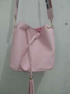 Tas Bucket Bag Korean Style Tas Serut