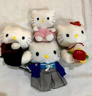 Hello Kitty Plush stufftoys(GET ALL)
