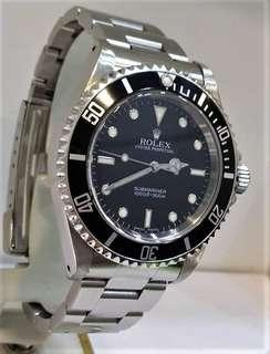 Rolex 14060M Sub No Date Z serial Year 2007