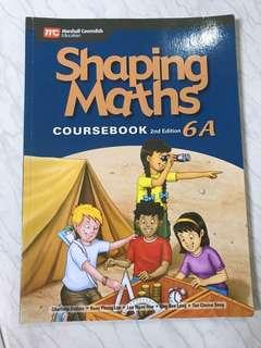 🚚 Bless out- Shaping Maths 6A (Marshall Cavendish)