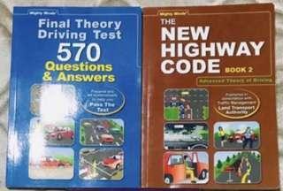 Driving Theory Books FTT&NHC