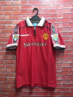 Vintage Manchester United David Beckham jersey