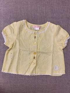 Hipo fant baby girl top - bb女衫(6 months)
