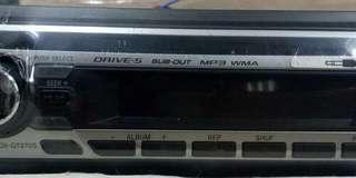 SONY CDX-GT270S MP3/AUX單片主機