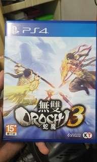 🚚 PS4 無雙蛇魔三