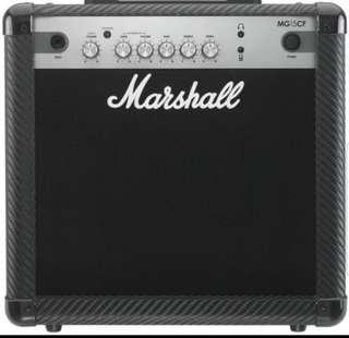 🚚 Marshall CF 15watt Amp