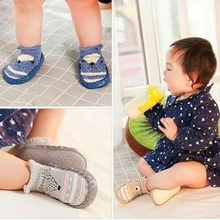 Sepatu kaos kaki bayi prewalker lucu model korea import