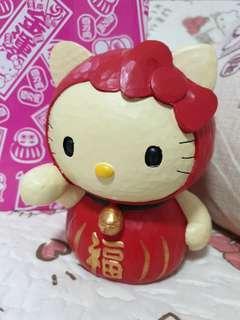 🚚 Hello Kitty Daruma Coin Bank