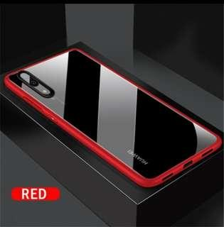 P20 pro Shockproof slim casing red