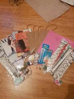 New and used scrapbooking supplies!!