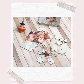 [po] personalised jigsaw puzzle (birthday gifts, couple gifts or for family)