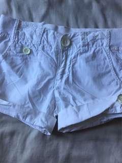 Zara kids cuffed shorts
