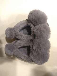 🚚 二手 女童鞋 14-15公分 毛毛鞋
