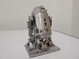 Star Wars R2D2 3D Metal Model
