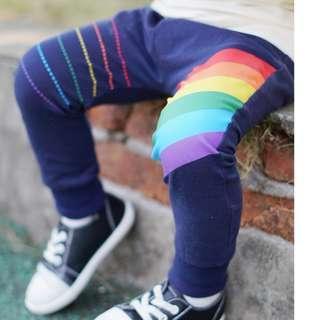 🚚 JB024 New Boys Rainbow Stripes Stretch Pants - 2 Colours