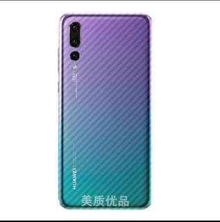 Huawei P20 Pro back film sticker with camera lens glass