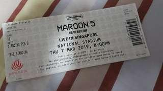 "Maroon 5 ""Red Pill Blue Tour"" Concert Tickets"