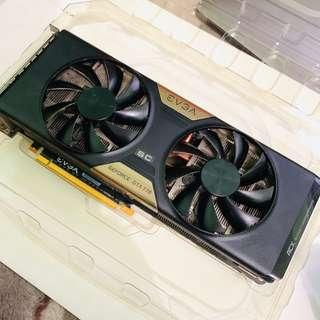 Evga NVIDIA gtx 770 graphics card OC edition