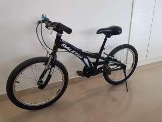 "Children bike. Raleigh bike 20""."