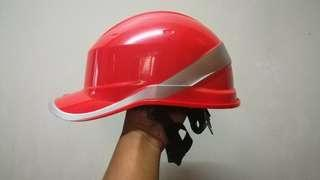 Safety Helmet (Red) Baseball Cutting