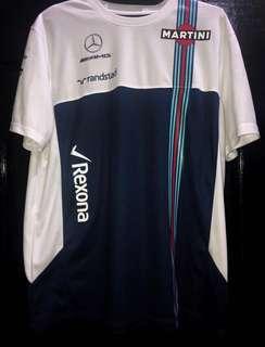 Williams Martini Racing F1 T-shirt