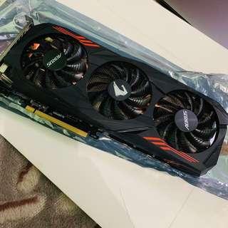 AORUS gigabyte NVIDIA 1070ti 8gb ddr5