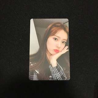IZONE Coloriz Hye Won Photocard
