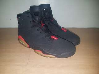 new product 0dd23 32b78 Air Jordan 6 Black Infrared