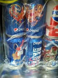 百事可樂紀念6罐