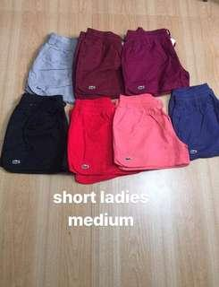Original Lacoste Shorts 🐊🐊 for women