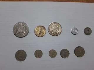 Assorted old philippines coin