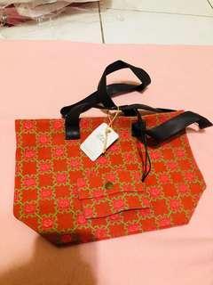 印花樂帆布餐袋