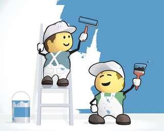 油漆服务和房屋清洁装修后