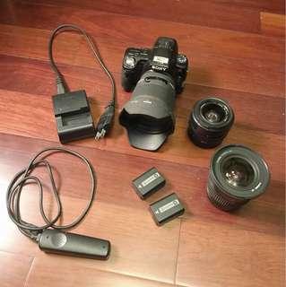 Sony a33/三鏡頭組