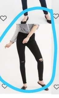 Abercrombie skinny jean