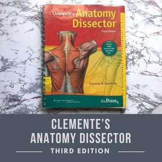 Clemente's Anatomy Dissector (3rd Edition)