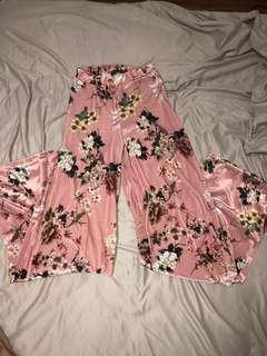 PLT floral pants