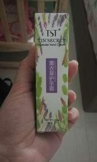 TST lavender hand cream