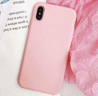 iPhone XS+ Pink Case