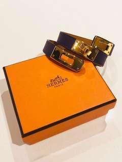 🚚 Hermes Kelly Double Tour Bracelet - Size S