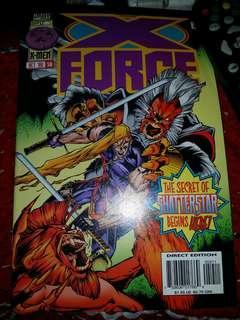 Marvel Comics X-Force 59 xforce xmen x-men