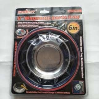 磁性 螺絲 收納盤,鐵釘 螺絲收納,磁鐵 吸鐵圓盤