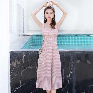 🚚 Pink Gingham Dress