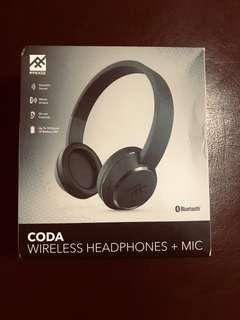 IFROGZ CODA WIRELESS HEADPHONE + MIC