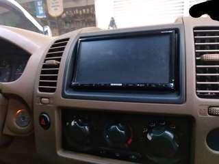 Nissan Navara D40 2 din head unit OEM nissan