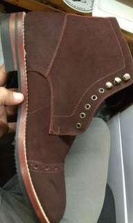 Sepatu boots kulit portee goods